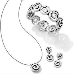 Brighton Necklace, Bracelet, Earrings Gift Set
